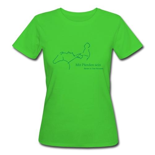MPS Reiter , Women Bio-Shirt ( Print: Digital Green) - Frauen Bio-T-Shirt