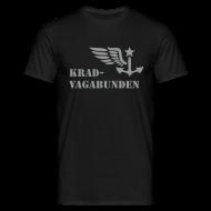 T-Shirts ~ Männer T-Shirt ~ T-Shirt Männer: Logo + Schriftzug vorne (grauer Aufdruck)