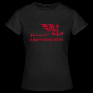 T-Shirts ~ Frauen T-Shirt ~ FERNWEH - T-Shirt Damen (Aufdruck rot)