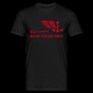 T-Shirts ~ Männer T-Shirt ~ FERNWEH - T-Shirt Männer (Aufdruck rot)