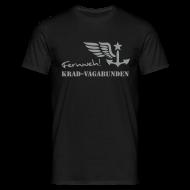 T-Shirts ~ Männer T-Shirt ~ FERNWEH - T-Shirt Männer (Aufdruck grau)