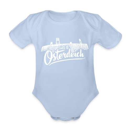 This is Osterdeich - Baby - Baby Bio-Kurzarm-Body