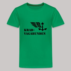 T-Shirt Teenager (schwarzer Aufdruck) - Teenager Premium T-Shirt