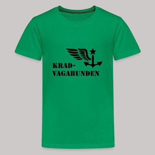 T-Shirt Teenager (schwarzer Aufdruck) - Teenager Premium T-Shirt