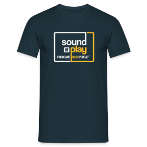 Sound of Play Navy - Men's T-Shirt