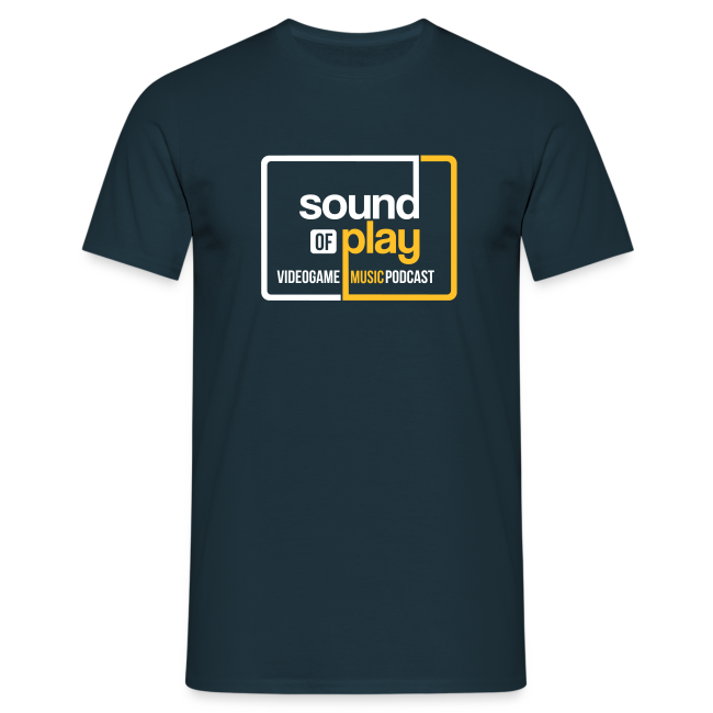 Sound of Play boxed logo Navy