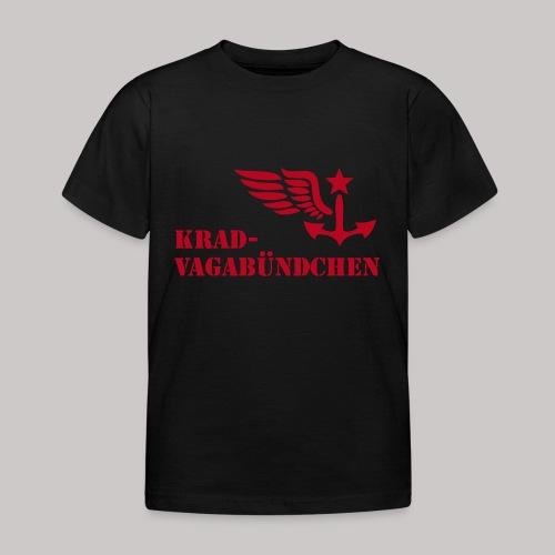 KRAD-VAGABÜNDCHEN - Kinder-T-Shrit (Aufdruck rot) - Kinder T-Shirt