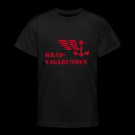 T-Shirts ~ Teenager T-Shirt ~ T-Shirt Teenager (roter Aufdruck)