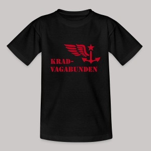 T-Shirt Teenager (roter Aufdruck) - Teenager T-Shirt