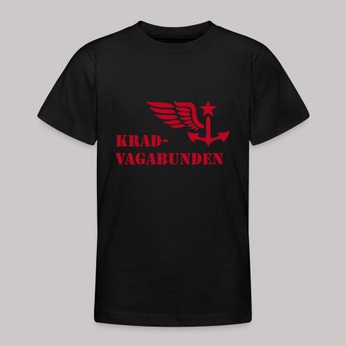 T-Shirt Teenager (roter Aufdruck) - Teenager T-Shirt