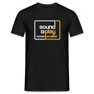 Sound of Play Black - Men's T-Shirt