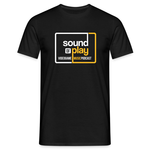 Sound of Play Black - Men's T-Shirt