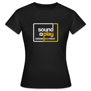 Sound of Play boxed logo Black - Women's T-Shirt