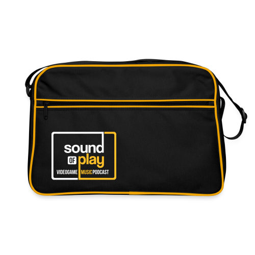 Sound of Play boxed logo retro bag - Retro Bag