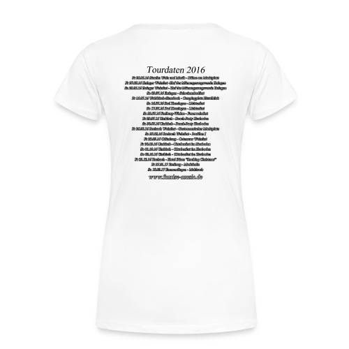 Funrise Tour-Shirt 2016 - Frauen Premium T-Shirt