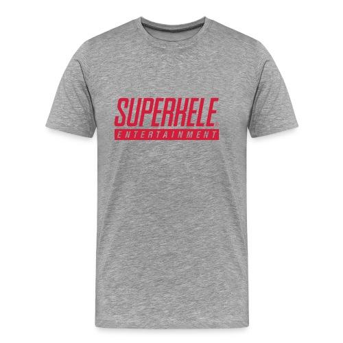 SUPERKELE - Miesten premium t-paita