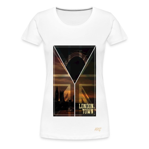 London Town By HXG Womens (Available in Black & White) - Women's Premium T-Shirt