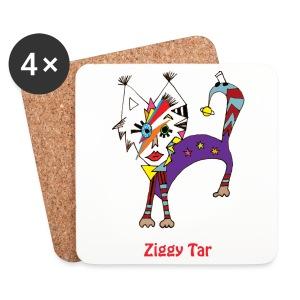 Sous-bocks x4 - Ziggy Tar - Dessous de verre (lot de 4)
