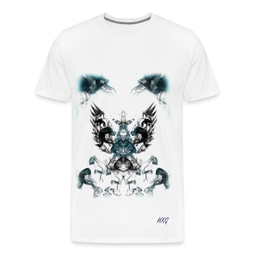 Rebirth By HXG Mens (Available in White Only) - Men's Premium T-Shirt