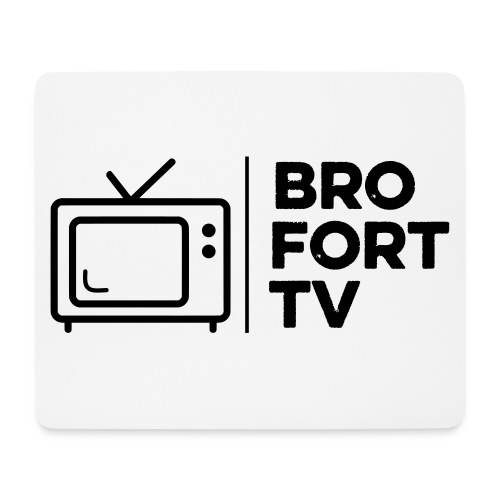 Bro Fort TV Mouse Mat - Mouse Pad (horizontal)