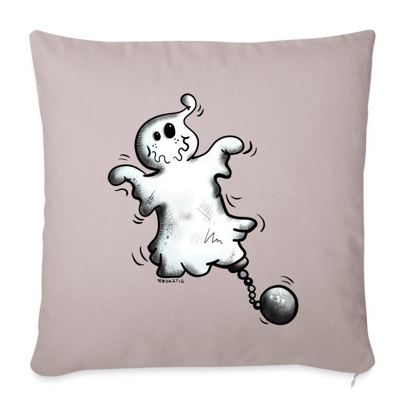 Copricuscino per divano con divertente fantasma spreadshirt for Copricuscino divano