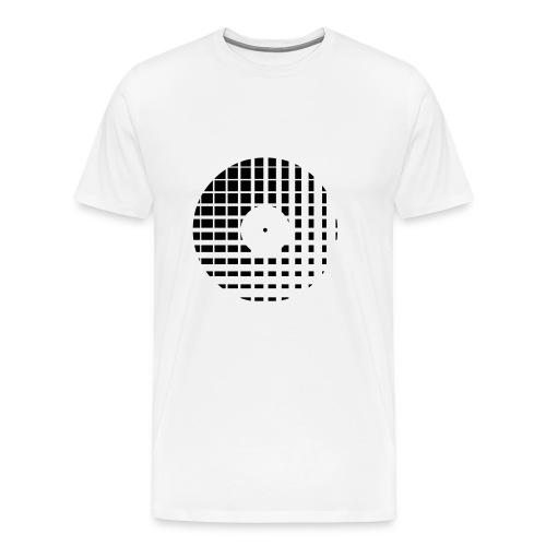 Vinyl rules - Mannen Premium T-shirt