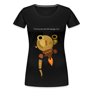 Damaged Boson Quote - Women's Premium T-Shirt