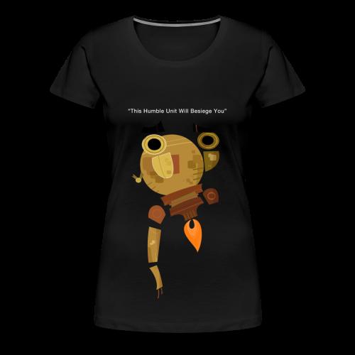 Damaged Boson Quote - Women's Premium T-Shirt