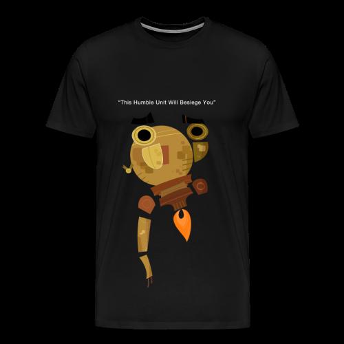 Damaged Boson Quote - Men's Premium T-Shirt
