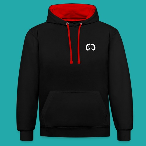 B/R Colour Contrast CC Logo Hoodie - Contrast Colour Hoodie