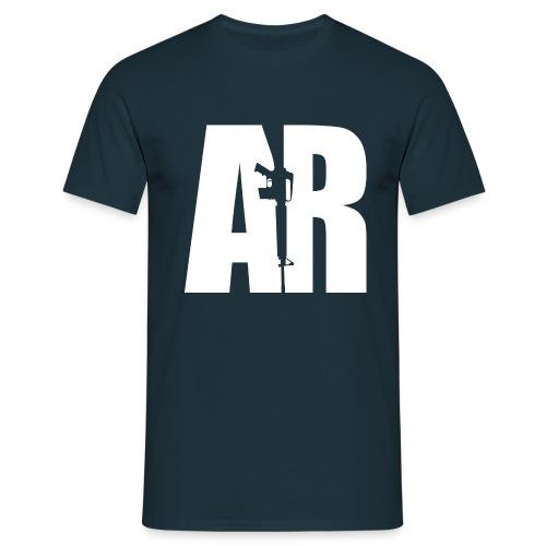 AR15 WHITE - Men's T-Shirt