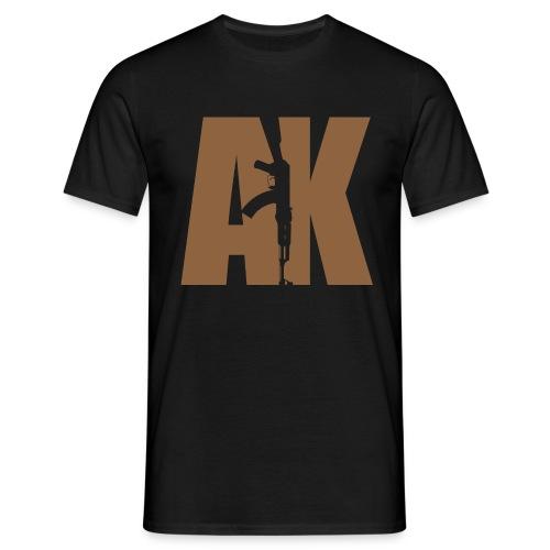 AK47 BEIGE - Men's T-Shirt