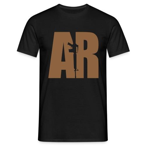 AR15 BEIGE - Men's T-Shirt