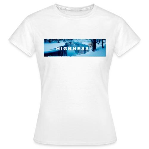 T-Shirt Winter by HIGHNESS FEMME - T-shirt Femme
