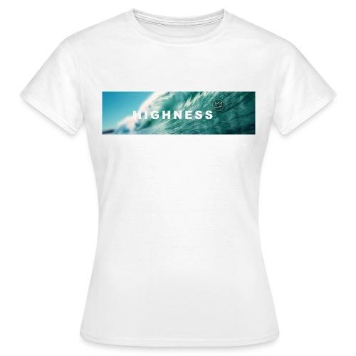 T-Shirt Water by HIGHNESS FEMME - T-shirt Femme