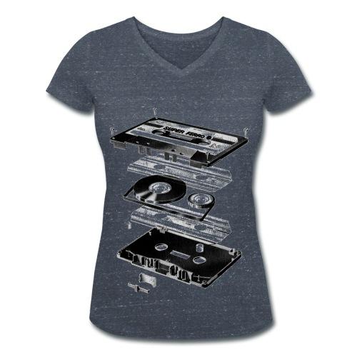 Old School Fashion  - Frauen Bio-T-Shirt mit V-Ausschnitt von Stanley & Stella
