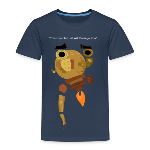 Damaged Boson Quote (Kids) - Kids' Premium T-Shirt