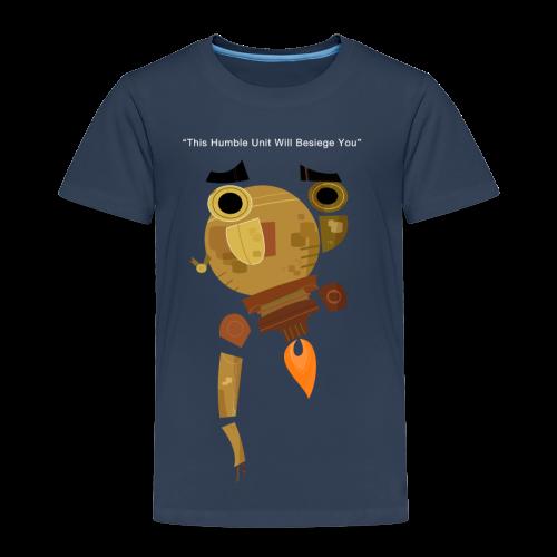 Damaged Boson Quote (Kids) - Kids' Premium T-Shirt