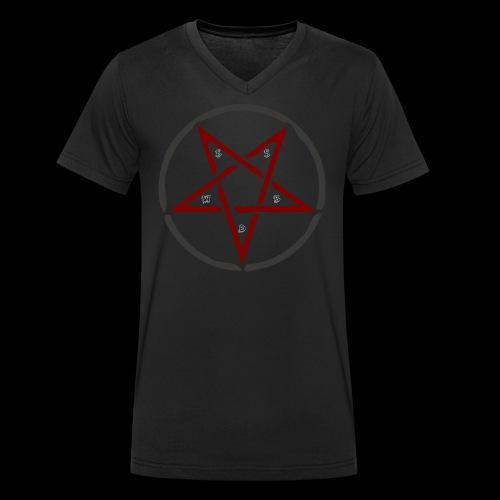 Crew-Shirt - Männer Bio-T-Shirt mit V-Ausschnitt von Stanley & Stella