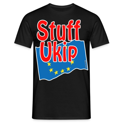 Stuff Ukip for dark shirts - Men's T-Shirt