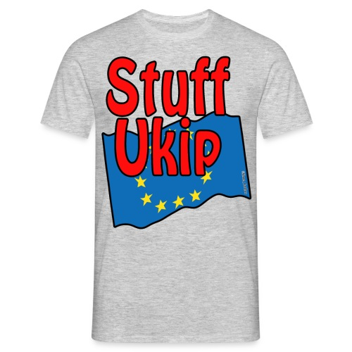 Stuff Ukip for light shirts - Men's T-Shirt