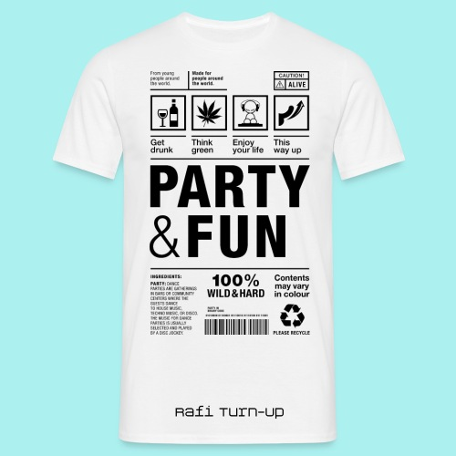 Party & Fun - Männer T-Shirt