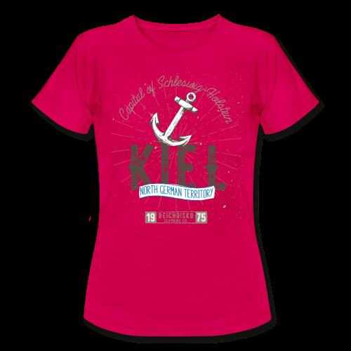 Deichdisko T-Shirt Kiel - Frauen T-Shirt