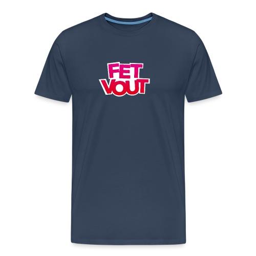Fet Vout mannen premium - Mannen Premium T-shirt