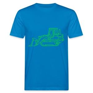 Bulldozer (Planierraube) - Männer Bio-T-Shirt