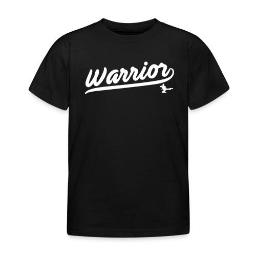 Childs Warrior Script T Shirt - Kids' T-Shirt