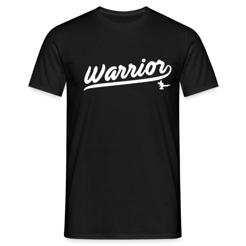Adult Warrior Script T Shirt - Men's T-Shirt