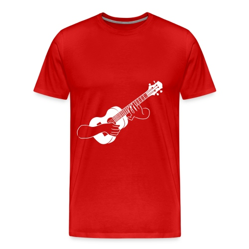 Ukulele - Mannen Premium T-shirt