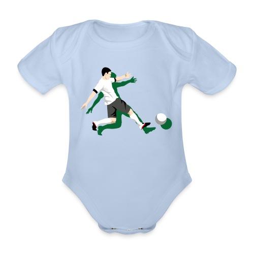 Babybody Kick it! - Baby Bio-Kurzarm-Body