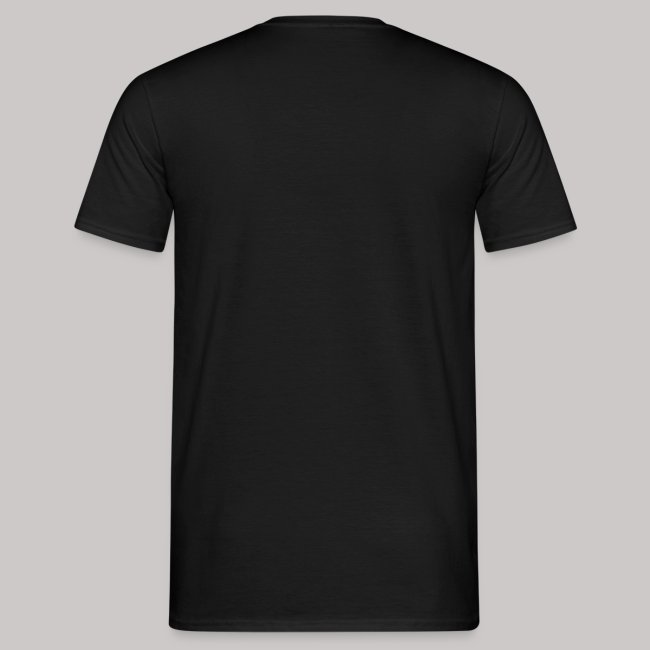 T-Shirt Männer: Glücksschwein (silberner Aufdruck)